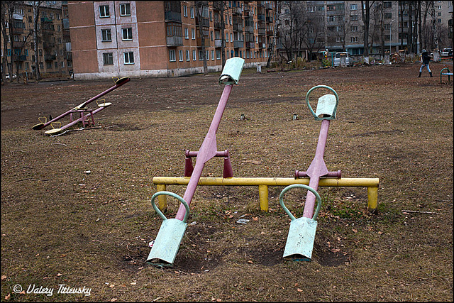 ЧБ стрит фото Новосибирска (10)