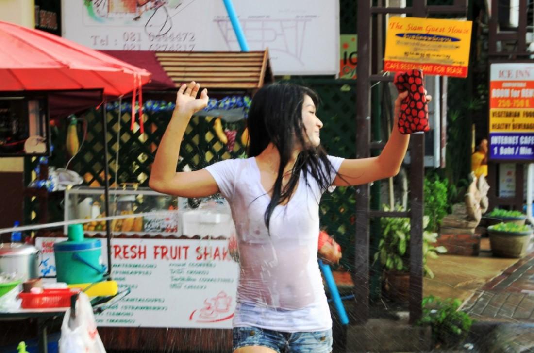 Сонгкран - Новый год Таиланд, Паттайя (52)