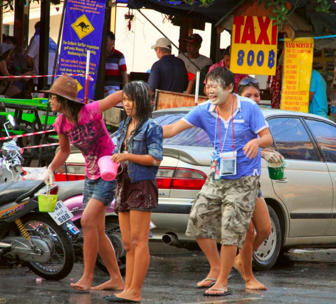 Сонгкран - Новый год Таиланд, Паттайя (36)