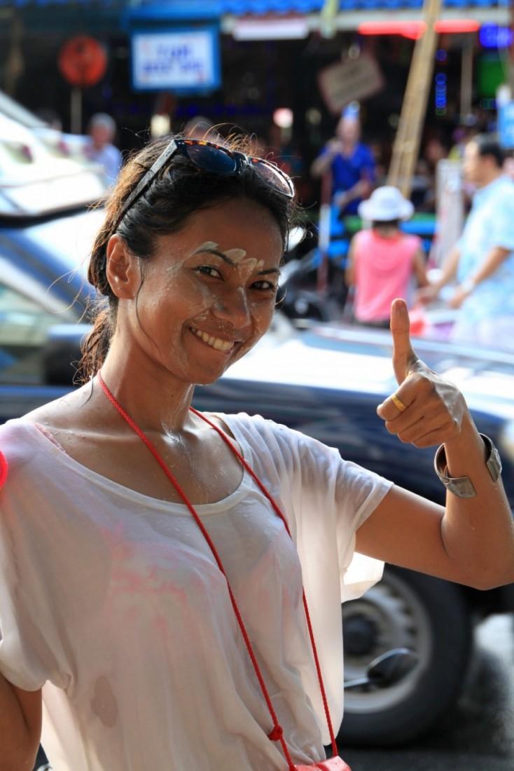 Сонгкран - Новый год Таиланд, Паттайя (35)