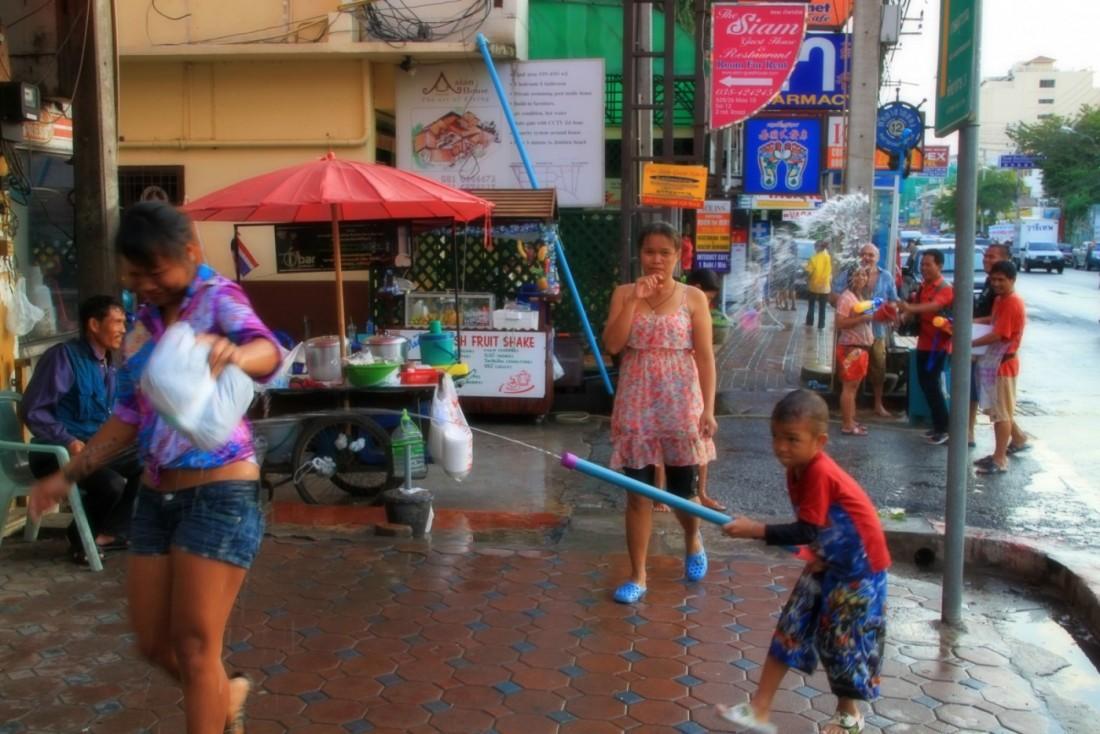 Сонгкран - Новый год Таиланд, Паттайя (34)