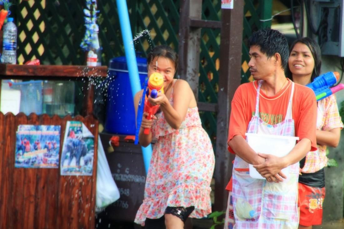 Сонгкран - Новый год Таиланд, Паттайя (32)
