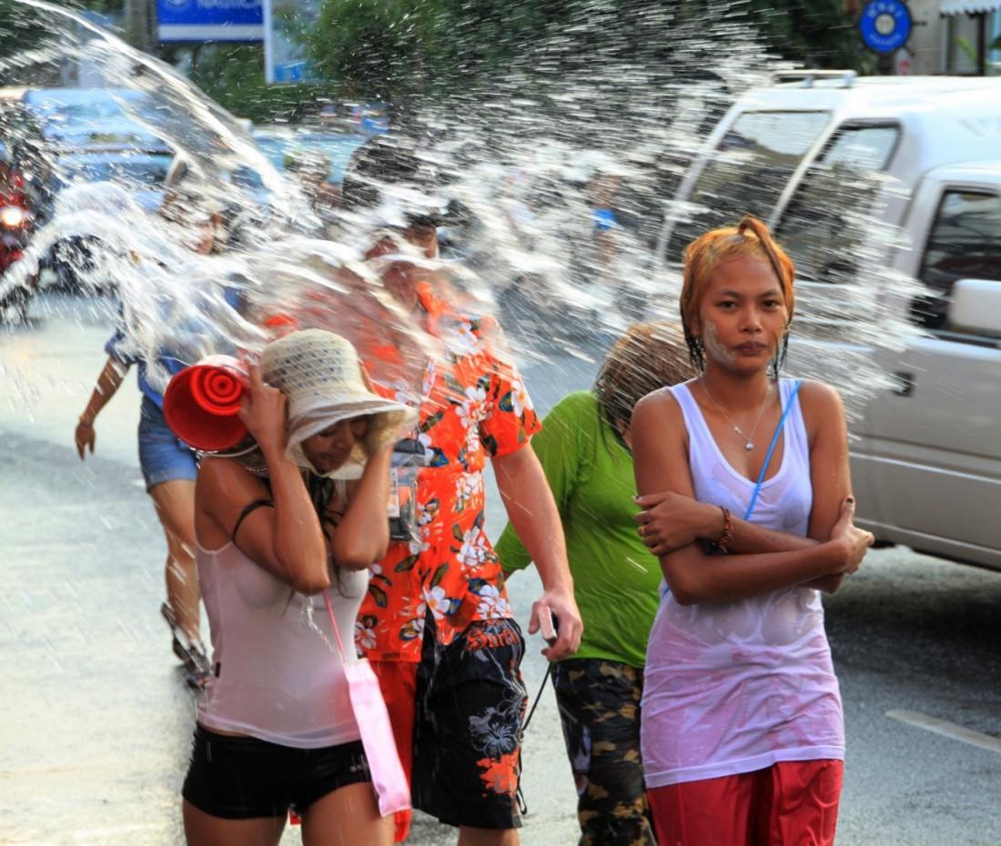 Сонгкран - Новый год Таиланд, Паттайя (26)