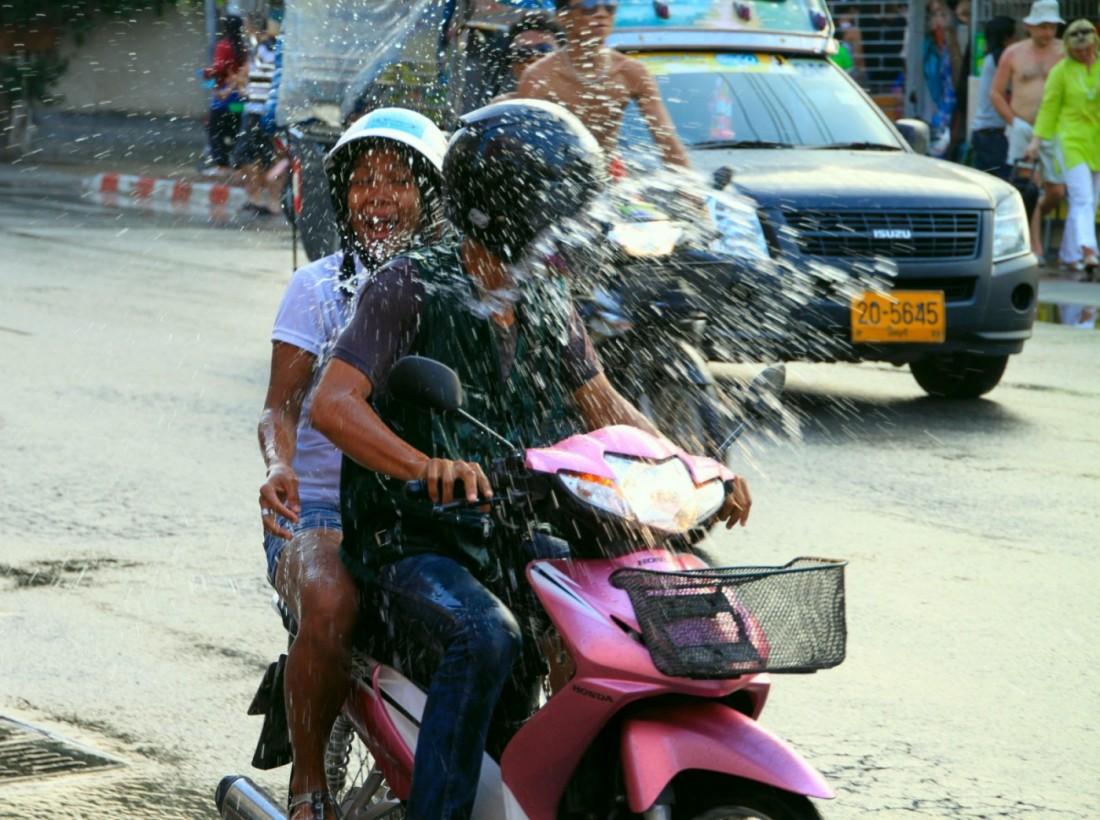 Сонгкран - Новый год Таиланд, Паттайя (22)