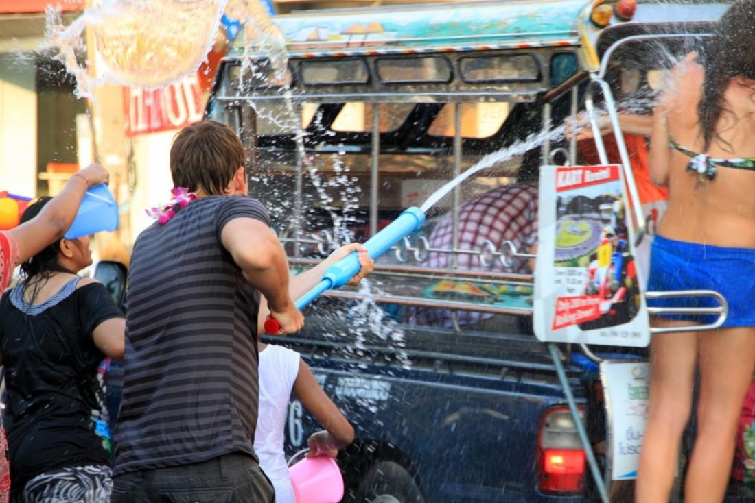 Сонгкран - Новый год Таиланд, Паттайя (20)