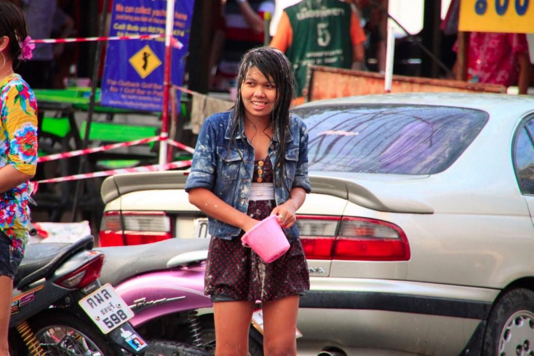 Сонгкран - Новый год Таиланд, Паттайя (19)