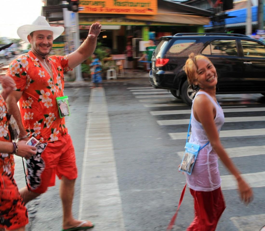 Сонгкран - Новый год Таиланд, Паттайя (46)