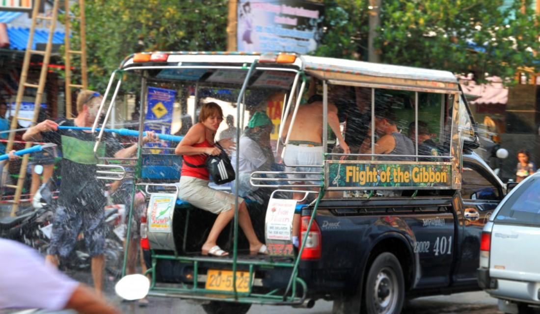 Сонгтео в Таиланде