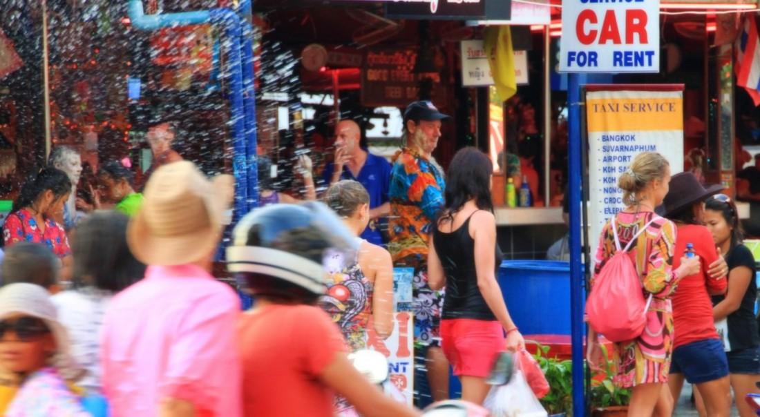 Сонгкран - Новый год Таиланд, Паттайя (4)