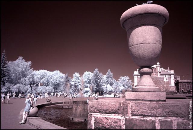 Инфракрасное фото - Новосибирск (15)