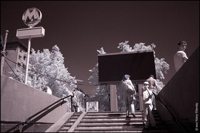 Инфракрасное фото - Новосибирск (10)