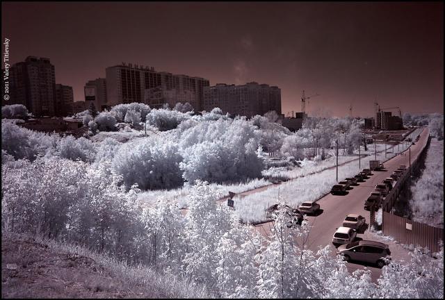 Инфракрасное фото - Новосибирск (6)