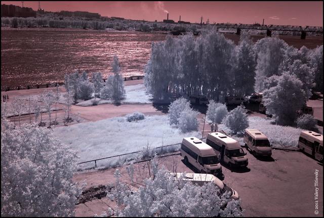 Инфракрасное фото - Новосибирск (3)