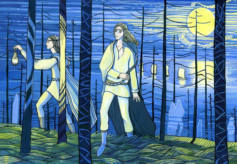 Эльфы (рисунок)