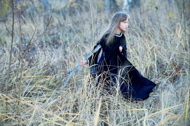 Анна Маслова, фото-серия Сказочные дети (5)