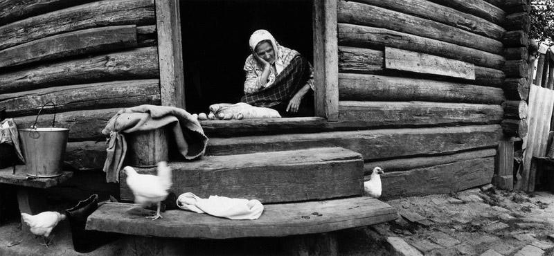 Деревенская жизнь в Киселевке