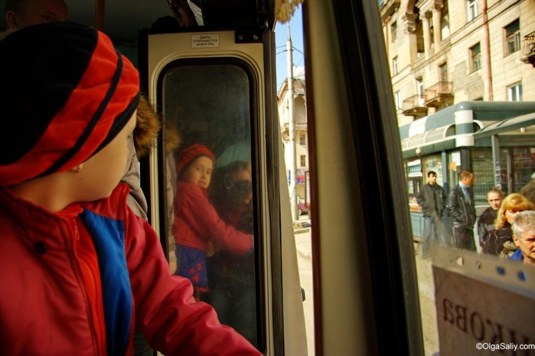 Поездки в автобусах