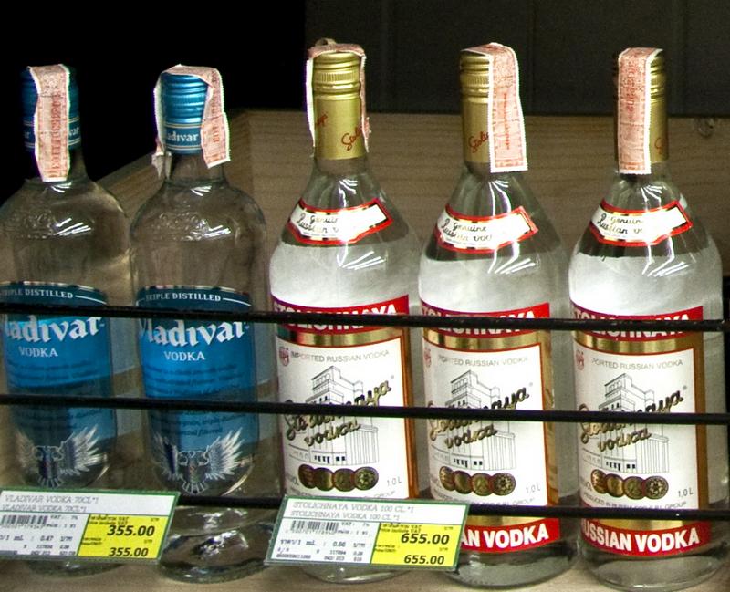 Сколько стоит алкоголь в тайланде