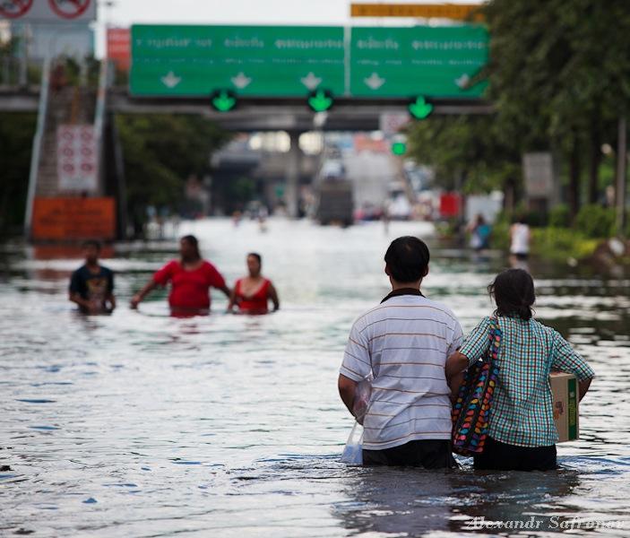 Наводнение в Бангкоке: как это было на самом деле (31)