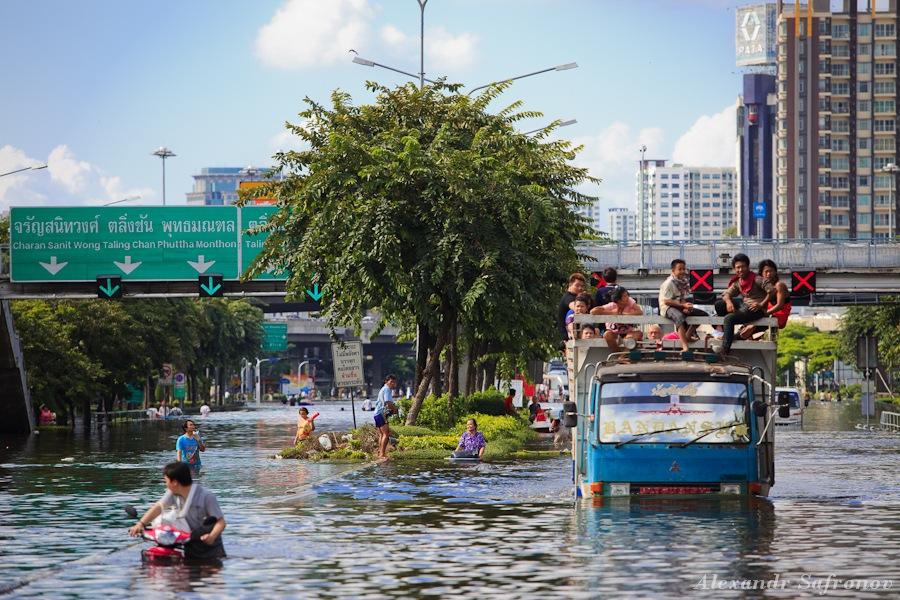 Наводнение в Бангкоке: как это было на самом деле (12)
