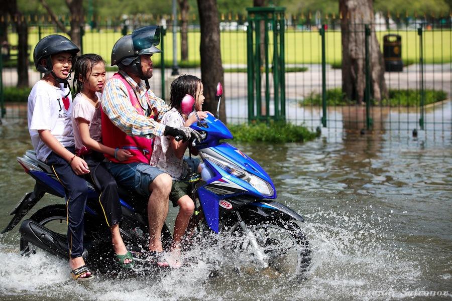 Наводнение в Бангкоке: как это было на самом деле (7)