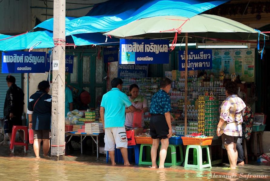 Наводнение в Бангкоке: как это было на самом деле (6)