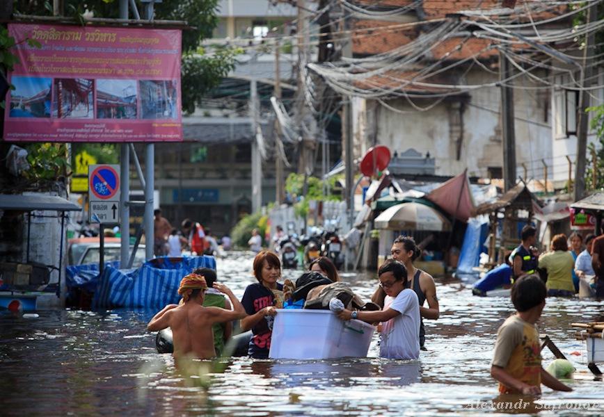 Наводнение в Бангкоке: как это было на самом деле (5)