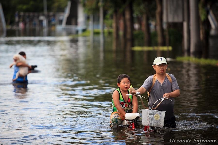 Наводнение в Бангкоке: как это было на самом деле (4)