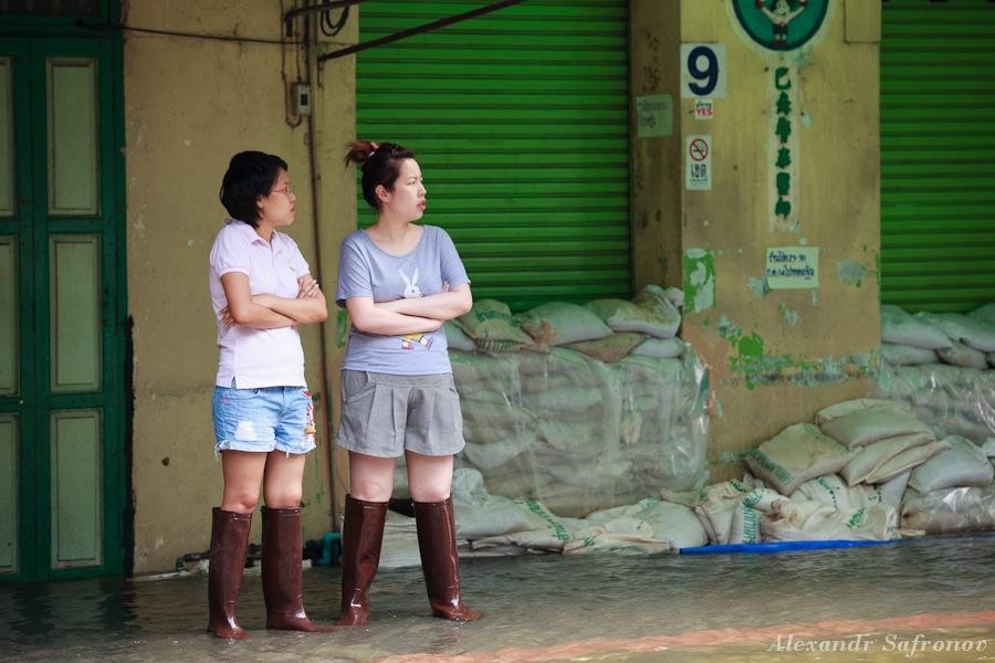 Наводнение в Бангкоке: как это было на самом деле (1)