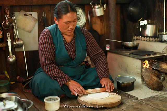 Тибетские лепешки