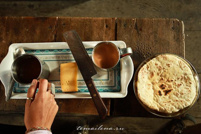 Завтрак на треке