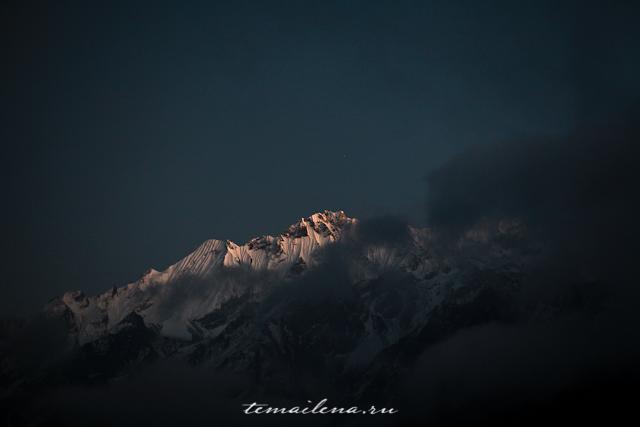Горы Лангтанга, трек в Непале (10)