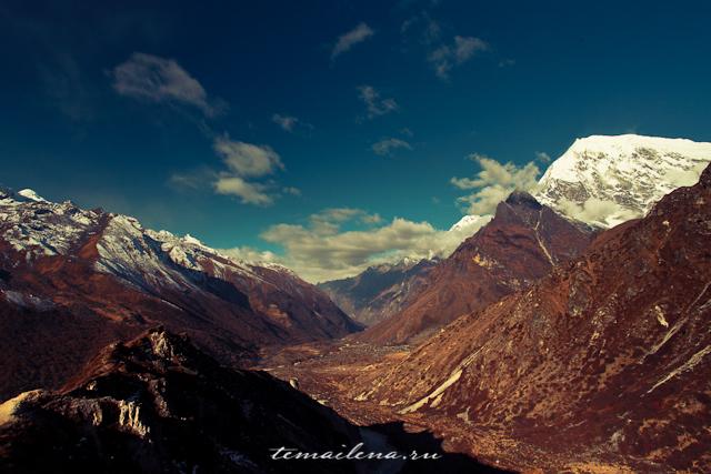 Горы Лангтанга, трек в Непале (7)