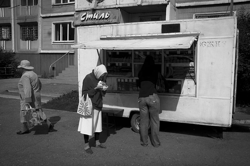 Фотоистория Александра Бендюкова. Новокузнецк. Чб фото (77)