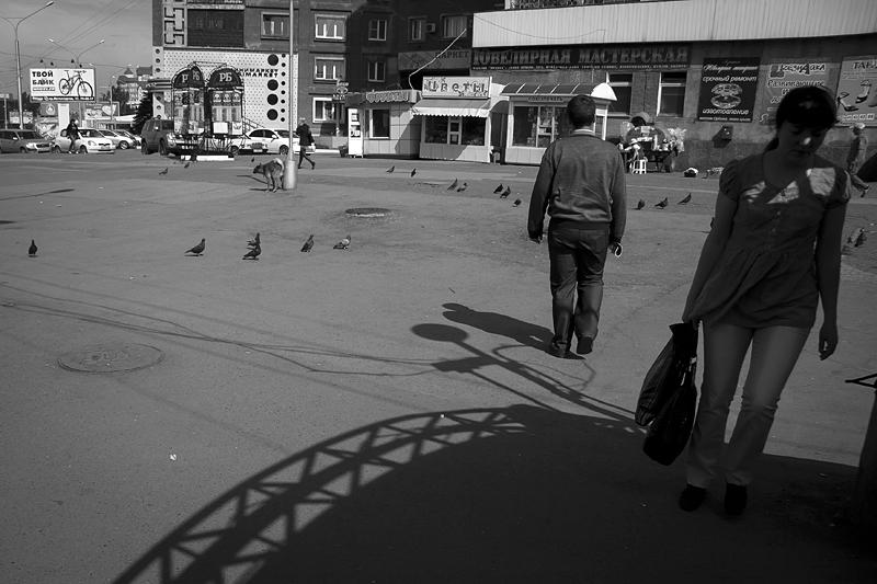 Фотоистория Александра Бендюкова. Новокузнецк. Чб фото (38)