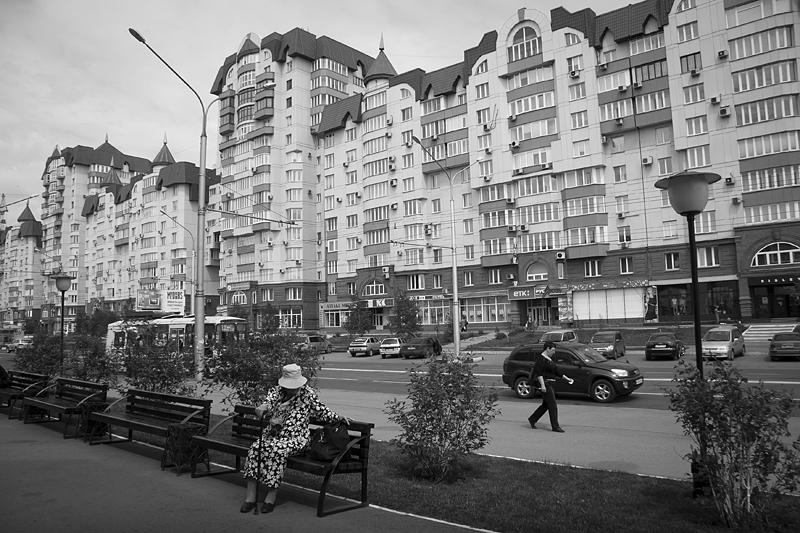 Фотоистория Александра Бендюкова. Новокузнецк. Чб фото (34)