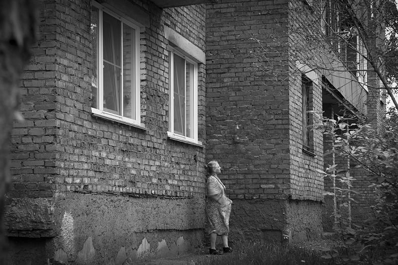 Фотоистория Александра Бендюкова. Новокузнецк. Чб фото (31)