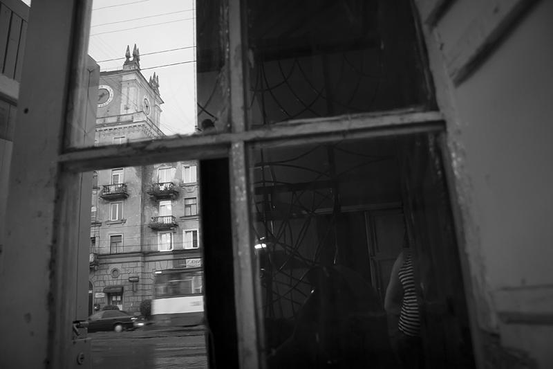 Фотоистория Александра Бендюкова. Новокузнецк. Чб фото (75)