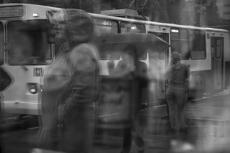 Фотоистория Александра Бендюкова. Новокузнецк. Чб фото (26)