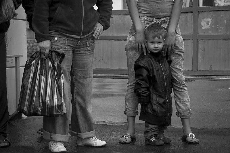 Фотоистория Александра Бендюкова. Новокузнецк. Чб фото (25)