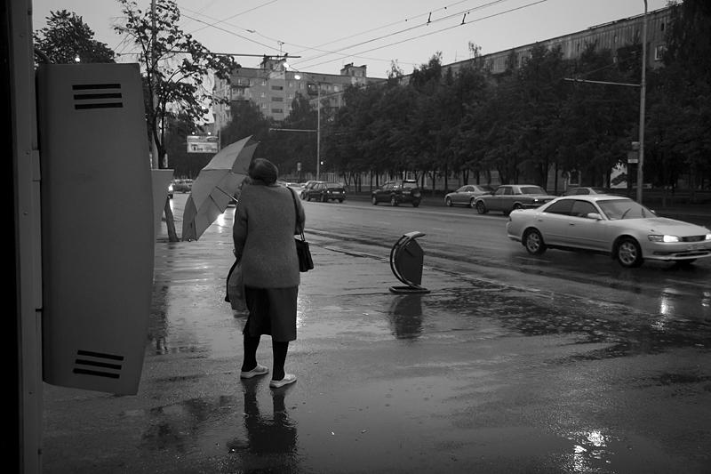 Фотоистория Александра Бендюкова. Новокузнецк. Чб фото (74)