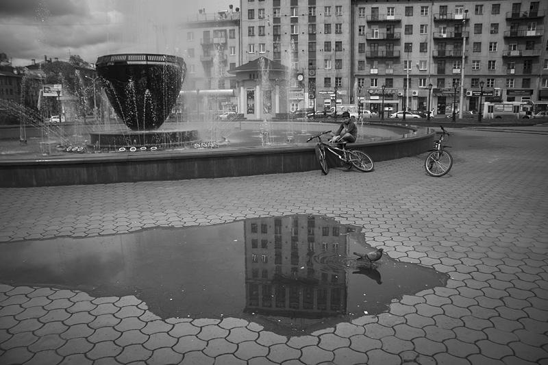 Фотоистория Александра Бендюкова. Новокузнецк. Чб фото (73)