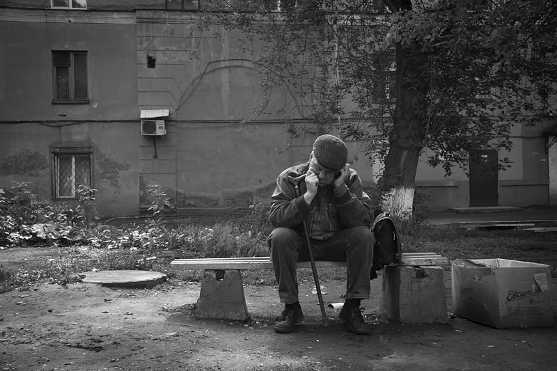 Фотоистория Александра Бендюкова. Новокузнецк. Чб фото (71)