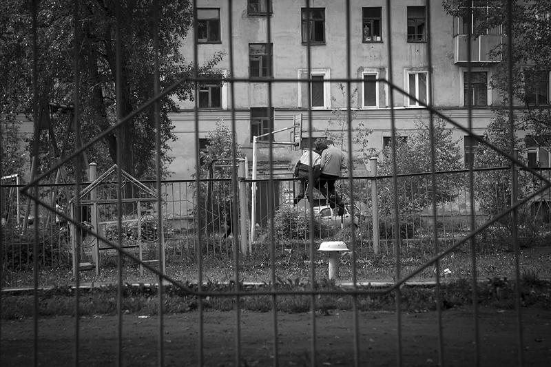 Фотоистория Александра Бендюкова. Новокузнецк. Чб фото (70)