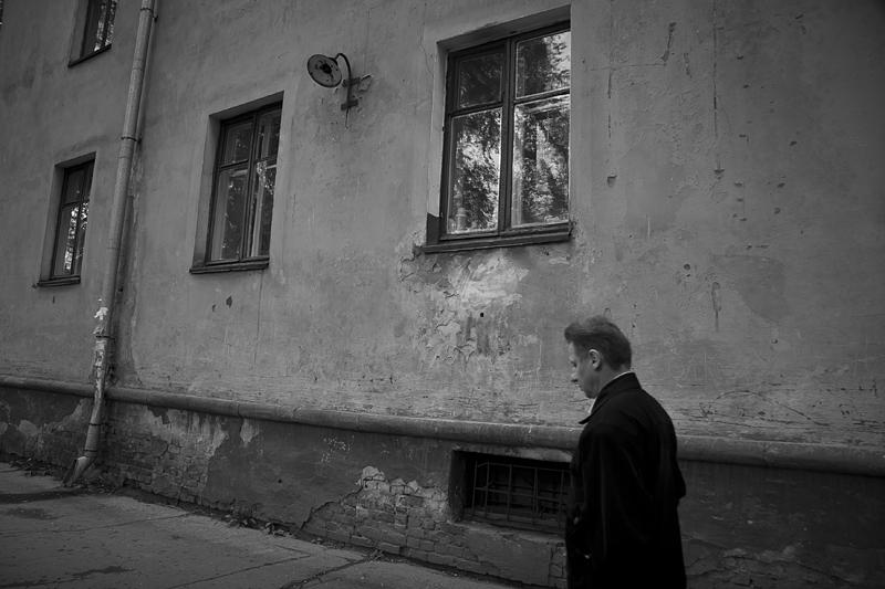 Фотоистория Александра Бендюкова. Новокузнецк. Чб фото (68)