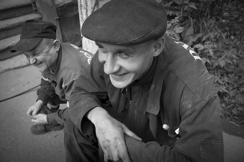 Фотоистория Александра Бендюкова. Новокузнецк. Чб фото (55)