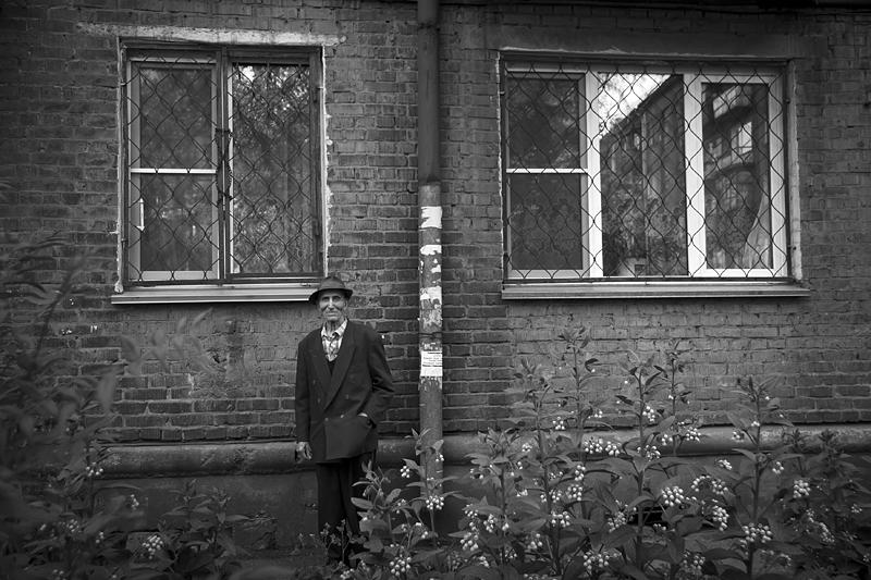 Фотоистория Александра Бендюкова. Новокузнецк. Чб фото (53)