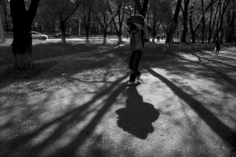 Фотоистория Александра Бендюкова. Новокузнецк. Чб фото (48)