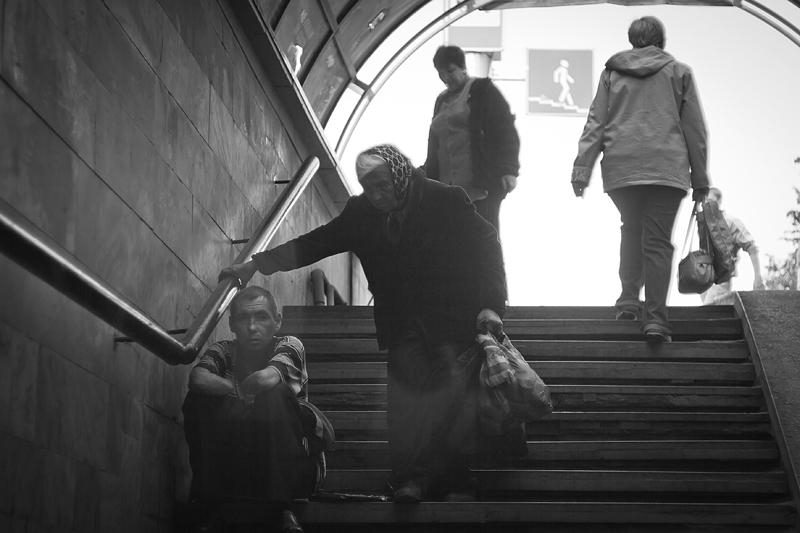 Фотоистория Александра Бендюкова. Новокузнецк. Чб фото (67)