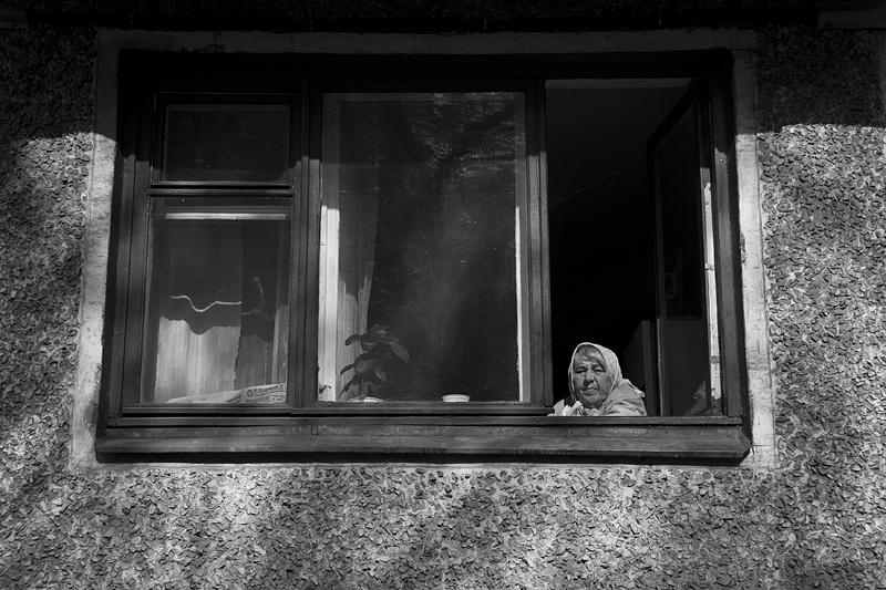 Фотоистория Александра Бендюкова. Новокузнецк. Чб фото (46)